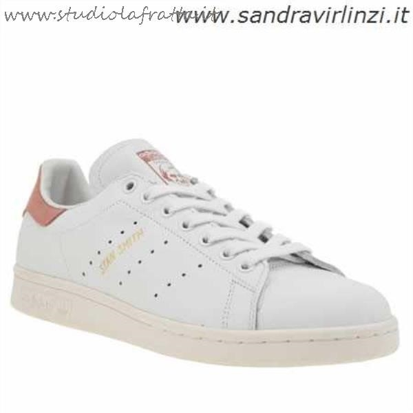 Stan Smith Bianche Rosa