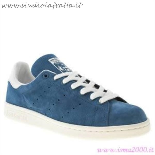 Stan Smith Camoscio Blu