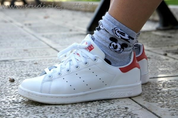 adidas stan smith rosse uomo