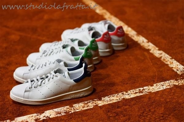 Stan Smith Rosse Indossate