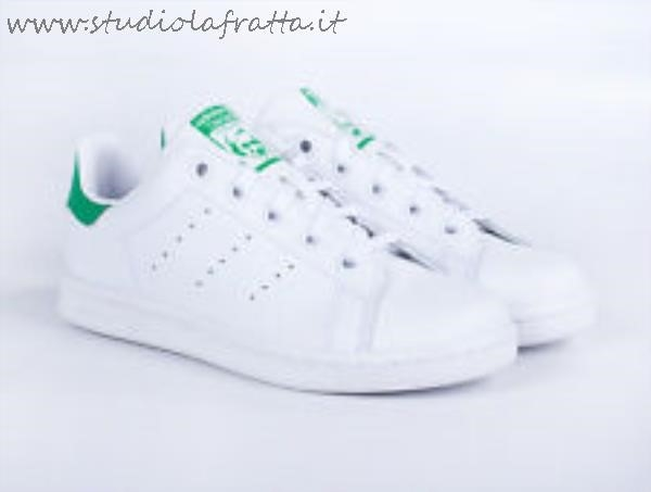 stan smith verdi bambino