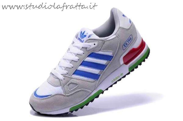 sports shoes 93bb5 d489e Bianco it Giallo Zx 750 Adidas Blu Studiolafratta Scarpe wqS4zaS
