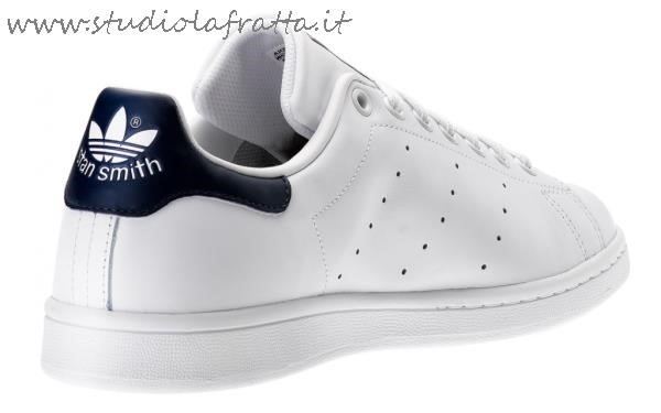 adidas stan smith rosse bianche