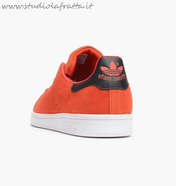 Adidas Stan Smith Nere Scamosciate