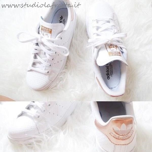 Adidas Stan Smith Rosa Gold