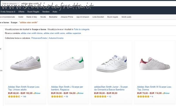 online store 672b1 aec20 Stan it Smith Studiolafratta Nere Amazon Adidas RrZ8AnqRp