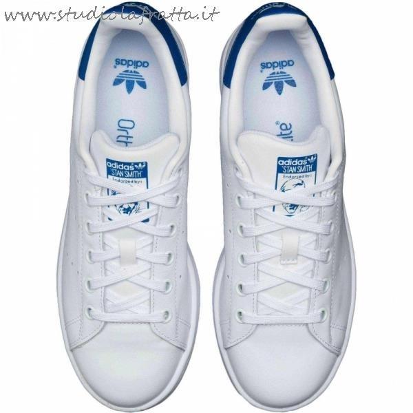 adidas bianche blu