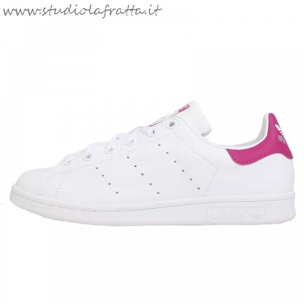 Adidas Stan Smith Bianche Fucsia