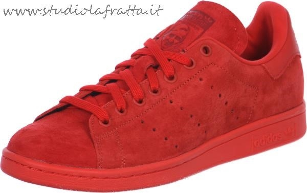 adidas stans smith camoscio