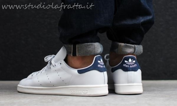 adidas stan smith uomo blu