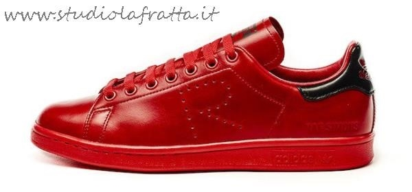 Adidas Stan Smith Tutte Rosse