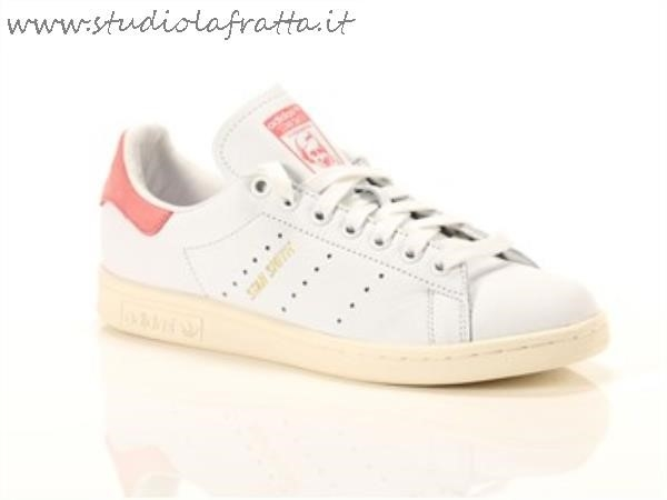 Adidas Stan Smith Bianco Rosa
