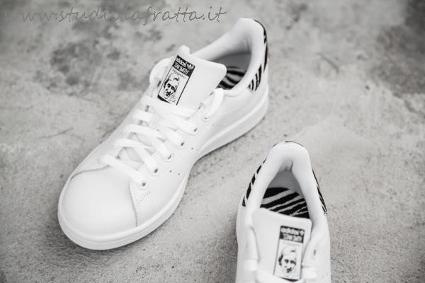 Stan Smith Scarpe Zebrate