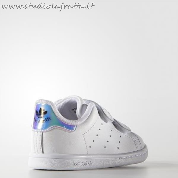 Stan Smith Bianche Argento