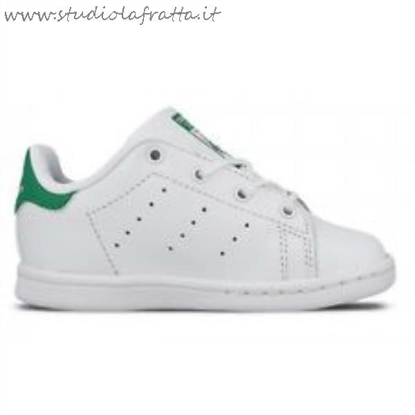 stan smith bianche e rosse