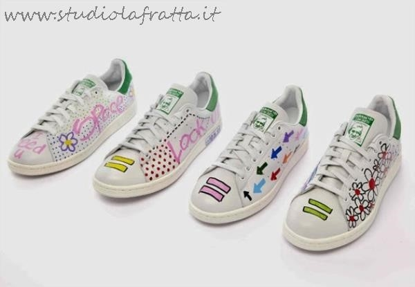 Stan Smith Pharrell Pois