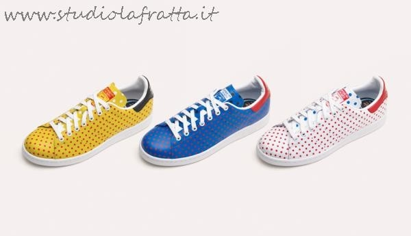 Stan Smith Pharrell Williams Pois